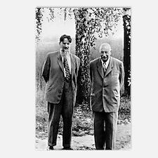 Kurchatov and Ioffe, Sovi Postcards (Package of 8)