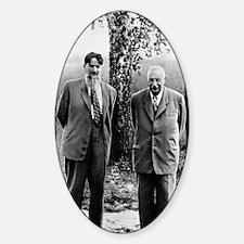 Kurchatov and Ioffe, Soviet physici Decal