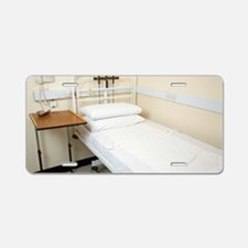 King's Fund hospital bed Aluminum License Plate