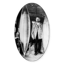 Konstantin Tsiolkovsky, rocket pion Decal