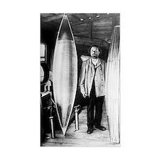 Konstantin Tsiolkovsky, rocket Decal