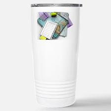 Laboratory notes, artwork Travel Mug