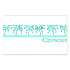 Cancun, Mexico Rectangle Decal