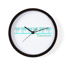 Cancun, Mexico Wall Clock