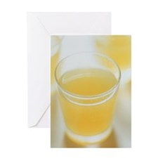 Lemon drink Greeting Card