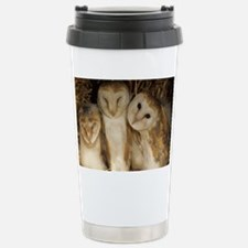 Young barn owls Travel Mug