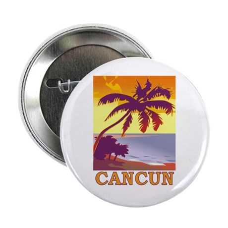 """Cancun, Mexico 2.25"""" Button (10 pack)"""