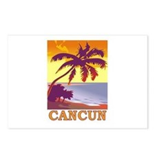 Cancun, Mexico Postcards (Package of 8)