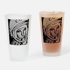 Yuri Gagarin Drinking Glass