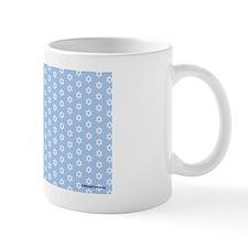 MDShoulderbagWhiteOnLtBlue-a Mug