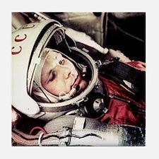 Yuri Gagarin onboard Vostok 1 Tile Coaster