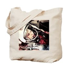 Yuri Gagarin onboard Vostok 1 Tote Bag