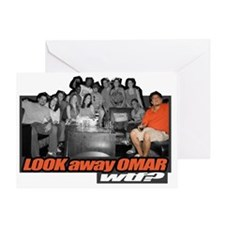 LOOKawayOMAR Greeting Card