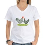 Barred Hollands Women's V-Neck T-Shirt