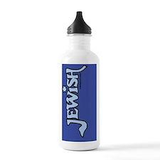 JewishipadSleeveLtBlue Water Bottle
