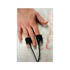 Lie detector test Rectangle Magnet