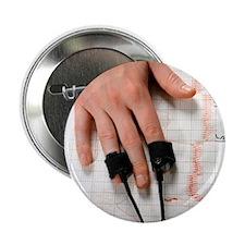 """Lie detector test 2.25"""" Button"""