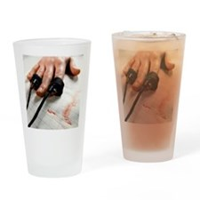 Lie detector test Drinking Glass