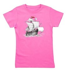 Pirate Ship Girl's Tee
