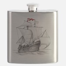 Pirate Ship Flask