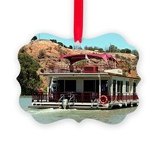 Houseboat on the Murray River, Au Ornament