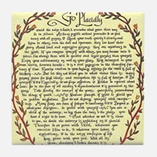DESIDERATA Poem Tile Coaster