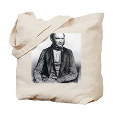 Lithograph of Charles Darwin aged 40 Tote Bag