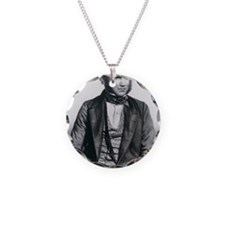 Lithograph of Charles Darwin Necklace