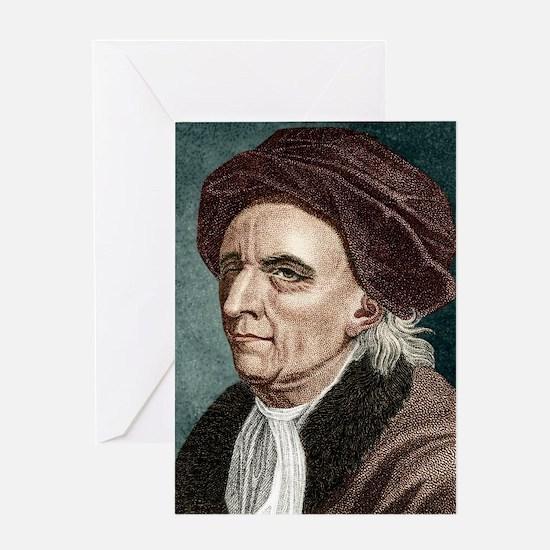 Leonhard Euler, Swiss mathematician Greeting Card