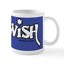JewishMousepadWhiteOnDkBlue Mug
