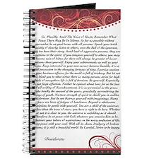 DESIDERATA  Journal
