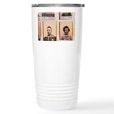 Los Alamos ID photos of Robert Travel Mug