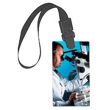 Light microscopy Luggage Tag