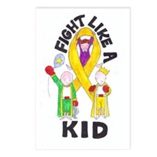 fight like a kid Postcards (Package of 8)