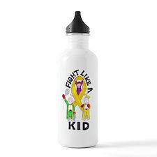 fight like a kid Water Bottle