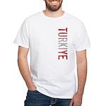 Turkiye White T-Shirt