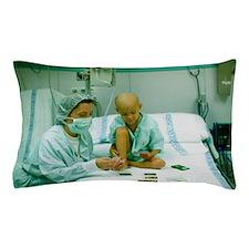 Leukaemia patient Pillow Case