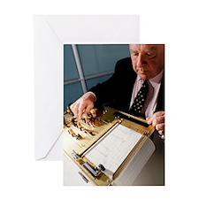 Lie detector machine Greeting Card