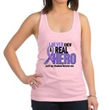 Prostate cancer Womens Racerback Tanktop