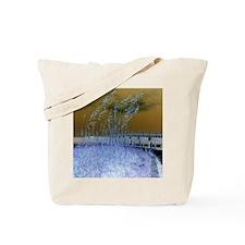 Blue Sea Oats Tote Bag