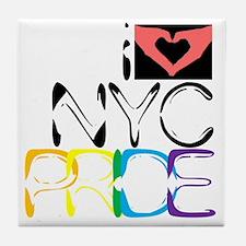 iLUV.NYC.PRIDE Tile Coaster
