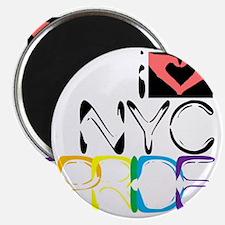 iLUV.NYC.PRIDE Magnet
