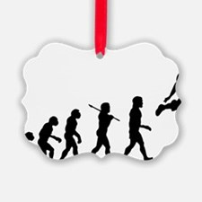 Basketball Evolution Jump Ornament