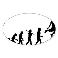 Basketball Evolution Jump Decal