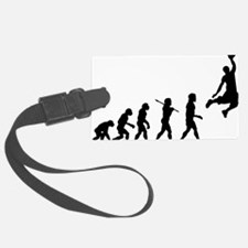 Basketball Evolution Jump Luggage Tag