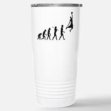 Basketball Evolution Jump Travel Mug