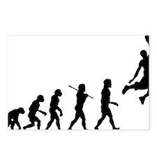 Basketball Evolution Jump Postcards (Package of 8)