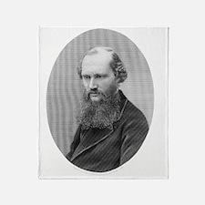 Lord Kelvin, British physicist Throw Blanket