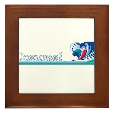 Cozumel, Mexico Framed Tile
