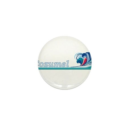 Cozumel, Mexico Mini Button (100 pack)